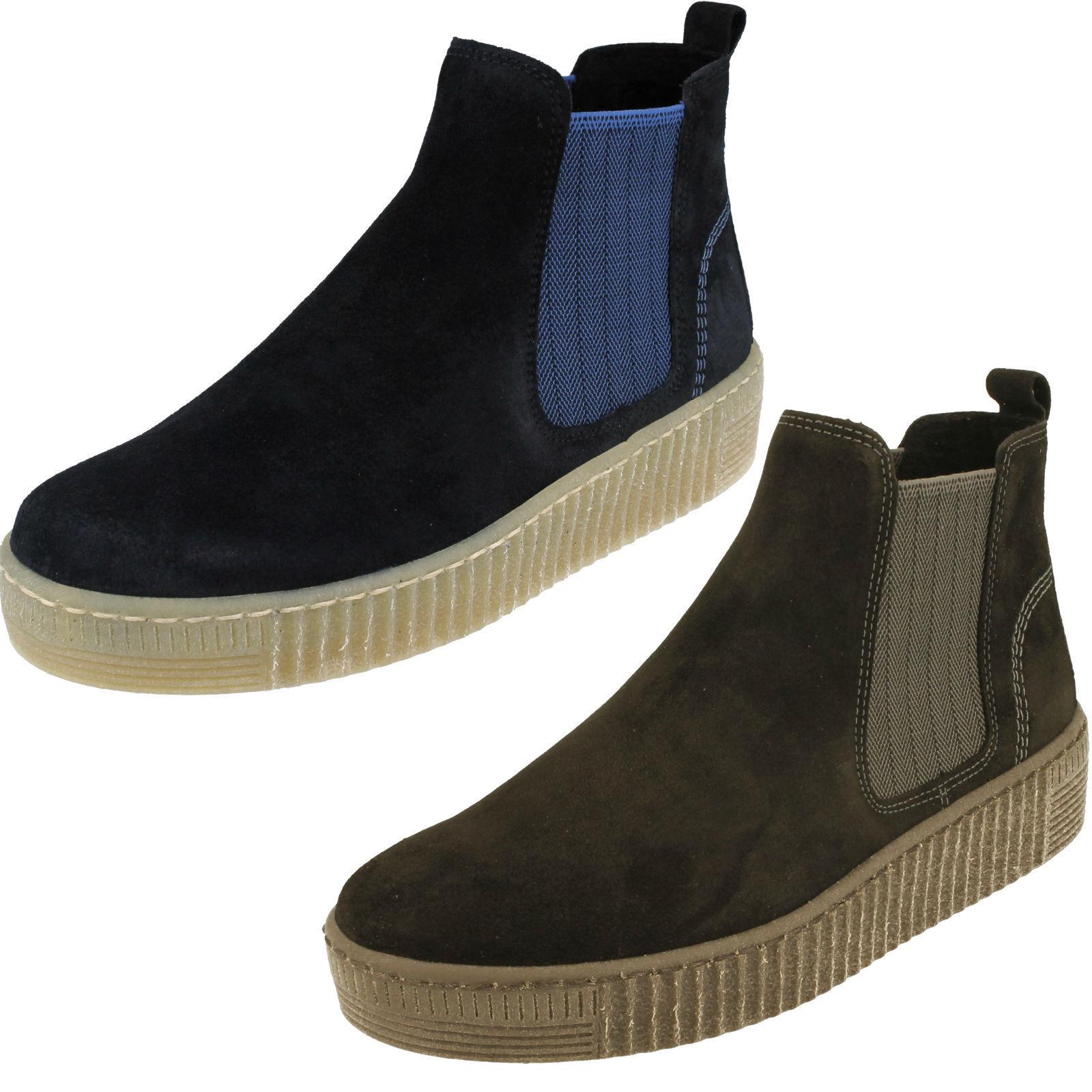 Ladies Gabor Ankle Boots - Lourdes 93731