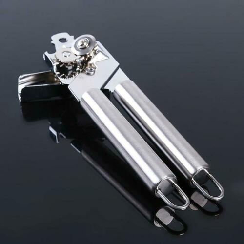 Manual Can Opener Kitchen Food-Safe Aid Built-in Bottle Opener Supply T