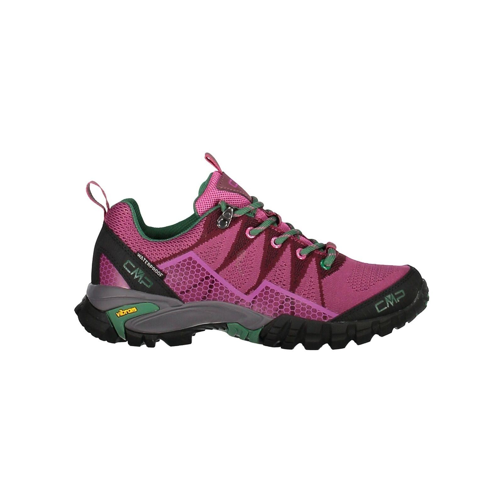 CMP Trekking Scarpe outdoorschuh Tauri Low WMN trekking scarpe WP Viola Impermeabile