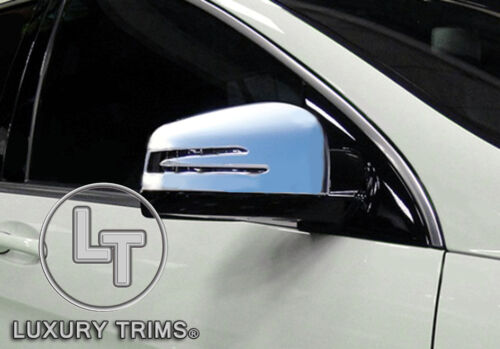 Mercedes GL X164 GL350 GL450 500 Chrome Mirror Covers by Luxury Trims 2010-2012