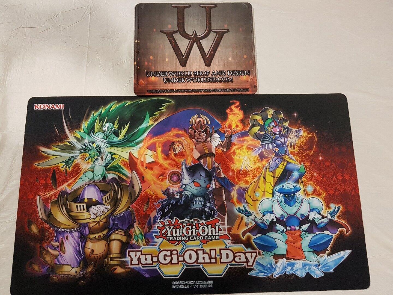 Official Yugioh Day Monarch's Vassals Playmat