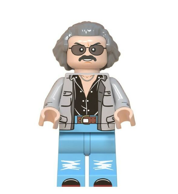 Stan Lee TV Film Mini Figure NEW UK Seller Fits Major Brand Blocks Bricks