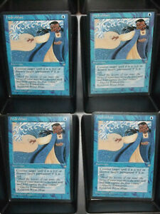 Hydroblast-Ice-Age-Magic-The-Gathering-Unplayed-Playset-MTG-Cards-4x-x4-NM