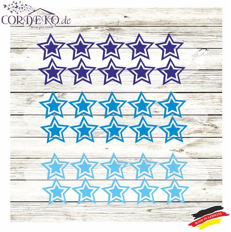 25x Sterne Fahrradaufkleber Bike Folie Aufkleber Sticker Auto Tuning Stars Stern