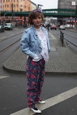 Veys 777 Giacca Jeans Giacca Jeans Pizzo Cotone 90er True Vintage 90s Denim-mostra Il Titolo Originale Costo Moderato