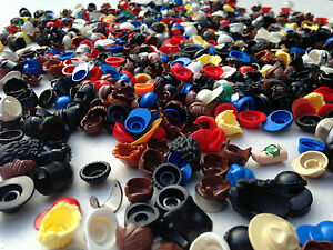 LEGO-Hats-Hair-Helmets-Large-Random-Choice-10-Pieces-Per-Order