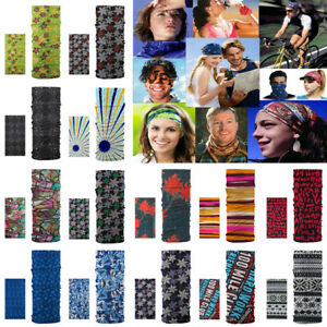 Multi Colors Tube Scarf Bandana Head Face Mask Neck Gaiter Snood Headwear