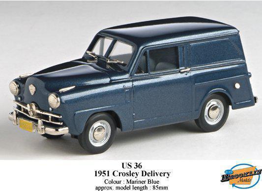 1951 CROSLEY SEDAN DELIVERY Brooklyn BLU 1 43