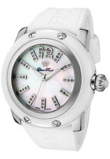 New Glam Rock GRD30018-RB Women's Miami 42 Diamond Mother-of-Pearl White Watch