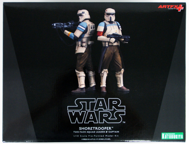 Star Wars Kotobukiya Artfx+ Rogue One Scarif Troopers 2 Pack Statue