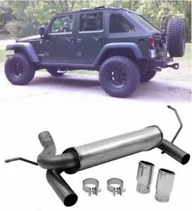 Dynomax Cat Back Jeep Jk