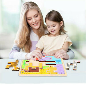 Kids-Cartoon-Animal-Puzzle-Toy-Learning-Toys-1-Set-Development-Colorful-Stereo