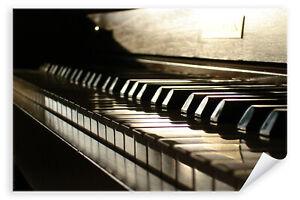 Postereck-Poster-0149-Piano-Tasten-Musik-Klavier-Instrument-Fluegel-Klassik