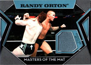 WWE-Randy-Orton-Topps-2011-Masters-of-the-Mat-Event-Used-Relic-Card
