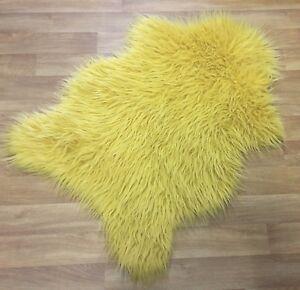 Yellow Fluffy Rug Area Rug Ideas