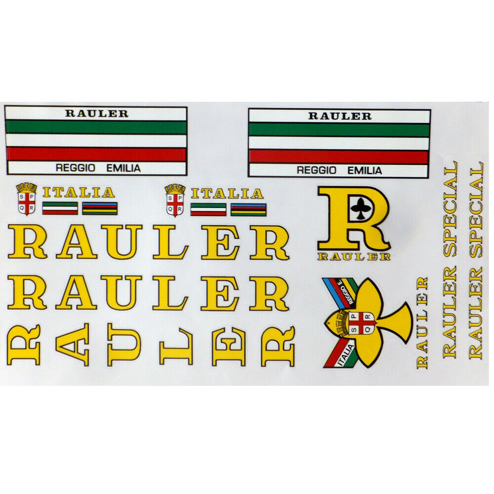 Rauler decals vintage choice of different  colors.  more discount