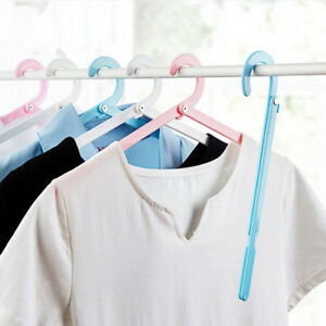 Foldable-Clothes-Hangers-Plastic-Windproof-Portable-Clothes-Drying-Rack-Shan