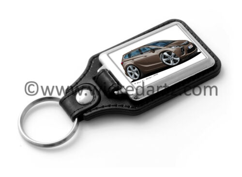 Brown Key Ring WickedKarz Cartoon Car Vauxhall Zafira Tourer C SRi 2011
