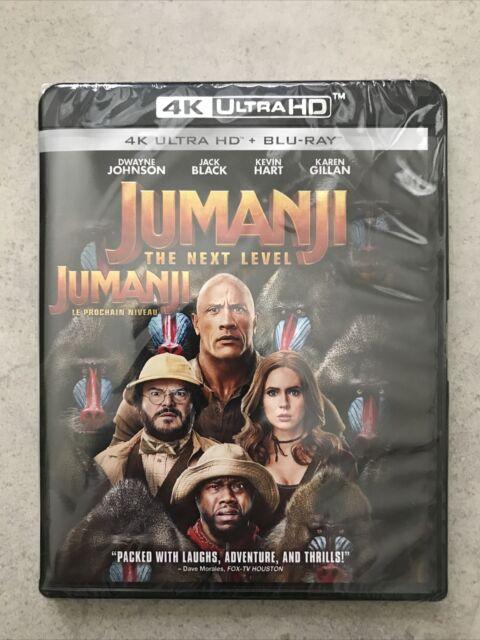 Jumanji 3: The Next Level (4K Ultra HD + Blu-ray, Bilingual)