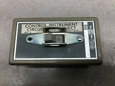Used Square D Motor Starting Switch In Enclosure 572a