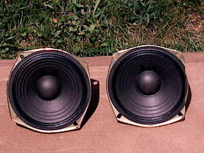 Pair Of 8 Ohm 5'' Woofers That Were Use In A Two Way Magnavox System In Gc!