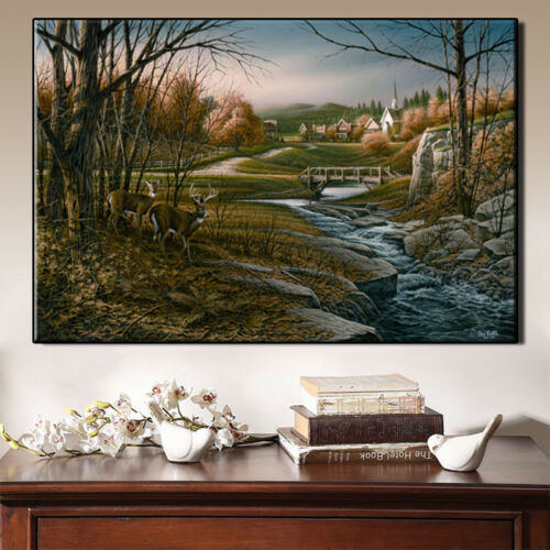 """Rural outdoor art poster painting canvas print home decoration wall 12/""""X18/""""-B"""