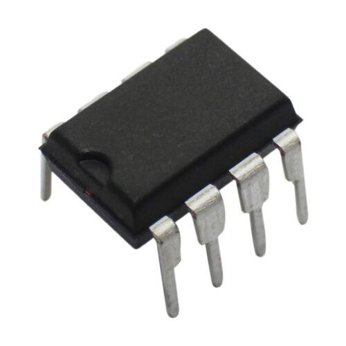 4X 24LC02B-I//P EEPROM Speicher I2C 256x8bit 2,5-5,5V 400kHz DIP8 serielle MICROC
