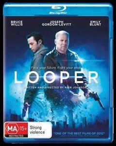 Looper-Blu-ray-AS-New-Free-Postage-PAL-REGION-4
