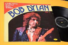 BOB DYLAN LP A RARE BATCH OF LITTLE WHITE WONDER ITALY 1974 MINT UNPLAYED MAI SU