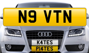 N9-VTN-Personalised-Registration-Cherished-Number-Plate