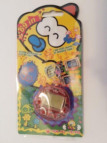 RakuRaku DinoKun 69 in 1 Dinkie Dino Tamagotchi GigaPet Nano Electronic Game Toy