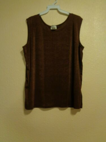 JOSTAR Classic Tank Top Sleeveless Made In USA Brand New You Choose Color /& Size