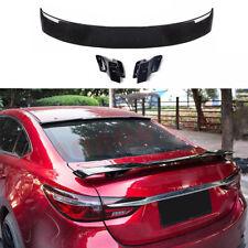 For Mazda 6 Sedan 2014 2021 Abs Glossy Black Rear Tail Trunk Spoiler Wing Kit Fits Mazda 6