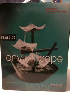 Homedics Silver Springs Indoor Relaxation Fountain (Automatic Pump)