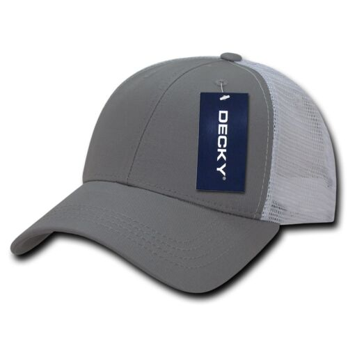 9db2ae5abf190 5 of 11 DECKY Low Crown Mesh Golf 6 Panel Pre Curved Bill Dad Caps Hats