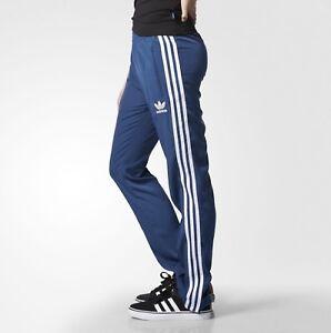682f485d76d4a La imagen se está cargando Reduccion-de-Para-Mujer-Adidas-Firebird -Track-Pantalones-