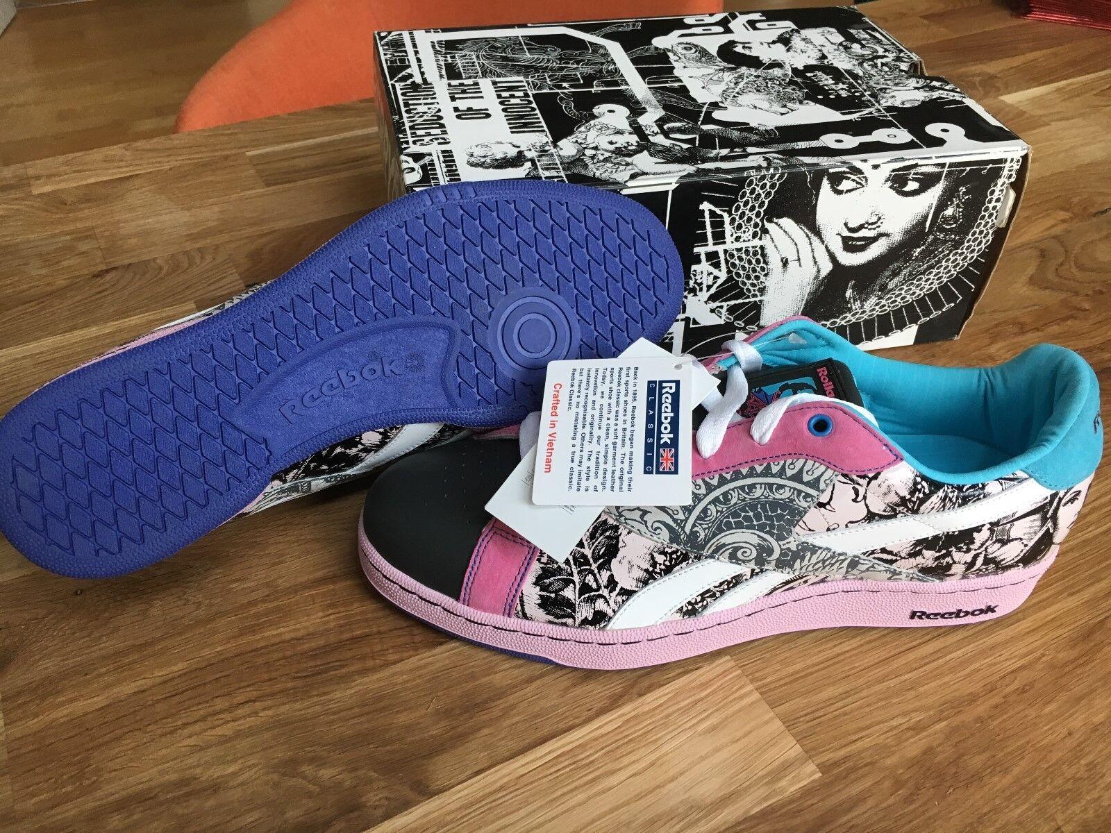 Reebok Sneakers - extrem coole Designer Schuhe von Rolland Berry GR. 44,5