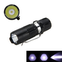 7w Cree Q5 Led 1200lm Mini Flashlight Torch Light 16340/cr123 Lamp Waterproof