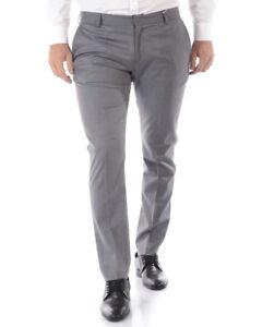 051a1616f5 Dettagli su Pantaloni Daniele Alessandrini Jeans Trouser Uomo Grigio  P3498N7443705 11