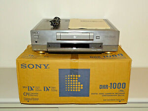 Sony DHR-1000 High-End DV-Recorder in OVP inkl. BDA, 2 Jahre Garantie