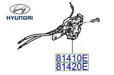 Genuine Hyundai Santa Fe Rear Right Door Latch and Actuator - 814202B010