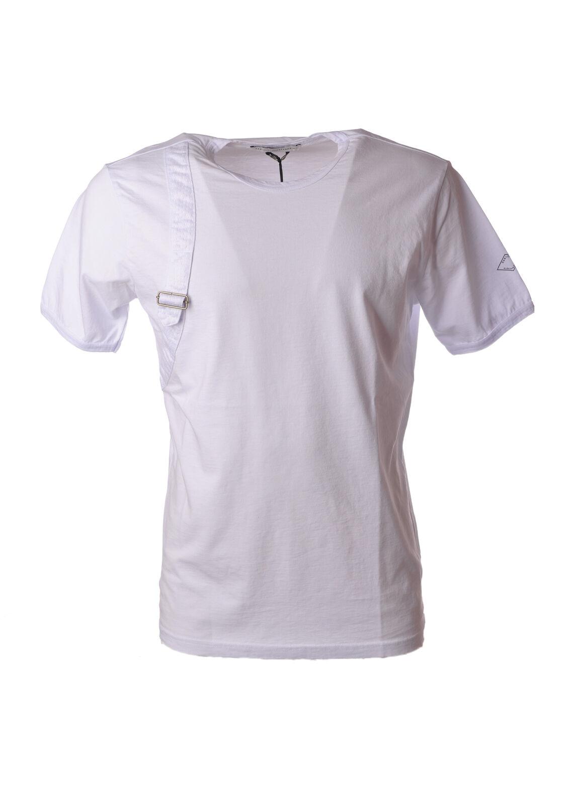 Daniele Alessandrini - Topwear-T-shirts - Man - Weiß - 5044809C181251