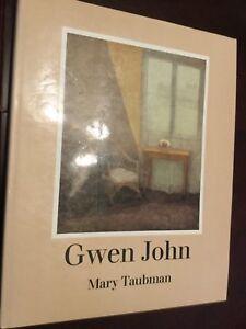 Gwen-John-artist-amp-her-work-Taubman-hardcover-women-artists-Augustus