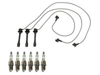 Toyota T-100 From 08/1994-1997 Bosch Spark Plug Wire Set & Set Fo 6 Spark Plugs on sale