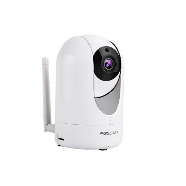 Foscam R2 Motorizzata 2MPX Full-HD1080P H.264 Wireless/Cavo+FiltroIRCUT-8mt 110°