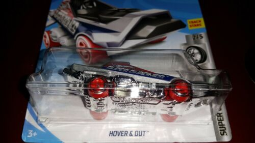 Details about  /HOT WHEELS 2019 SUPER CHROMES #2//5  HOVER /& OUT