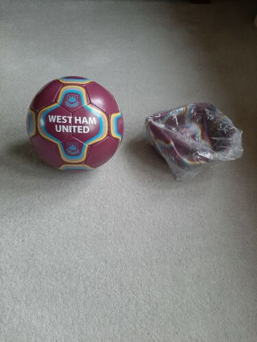 WEST HAM UNITED FC Training FOOTBALL ADULT SIZE 5 NEW 29 available