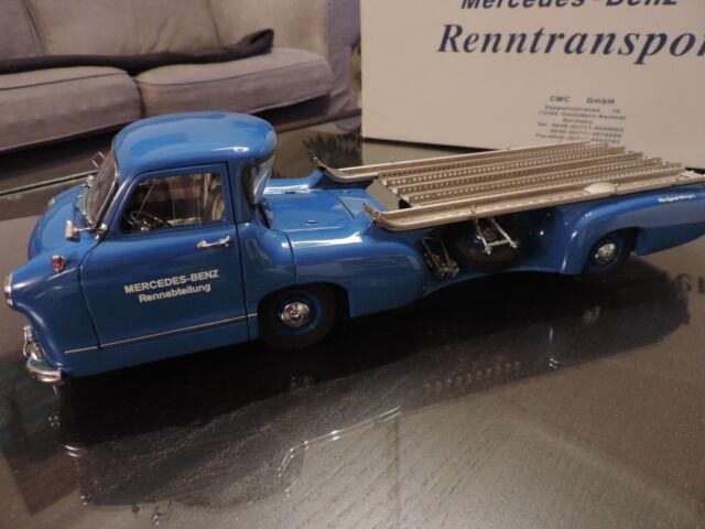 Camion Mercedes Benz Renntransporter 1954 CMC 1/18 en boite