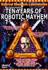 Ten Years of Robotic Mayhem by Survival Research Laboratories (DVD, Sep-2004, Music Video Distribution)