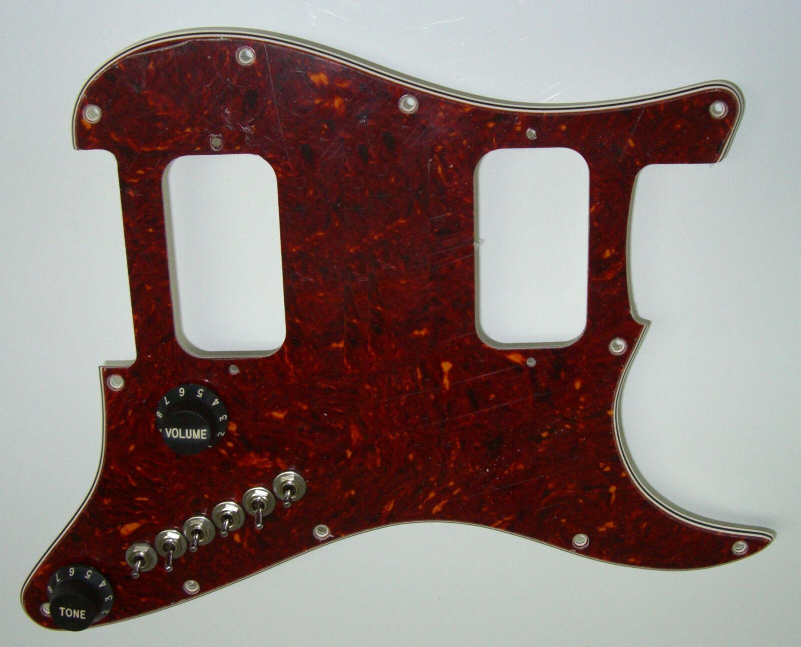 Upgrade Fits HH Stratocaster Strat Has 68 Pickup Tones + Treble Bleed